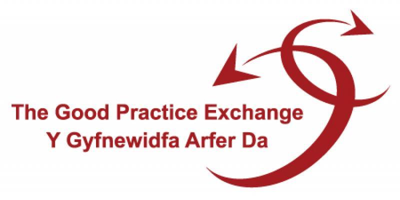 Y Gyfnewidfa Arfer Da logo